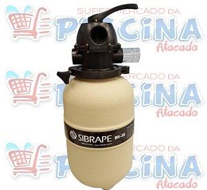 Filtro - Br-30 - Sibrape - Para Piscinas Até 31,2 m³ - Quantidade de 03 a 15