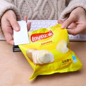 Mini Seladora de Embalagens Selador Alimentos Portátil