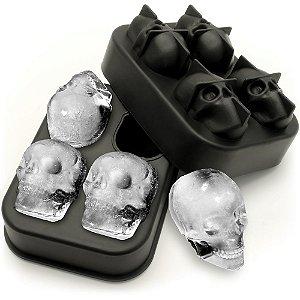Forma de Gelo 3D Caveiras