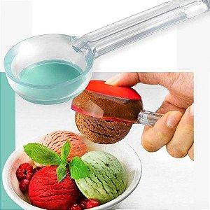 Pegador de Sorvete Prático com fundo em silicone