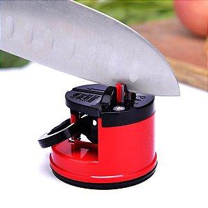 Afiador Amolador de Facas Tesoura Canivete com ventosa