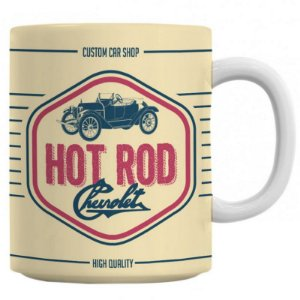 Caneca General Motors Retrô Jalopy Hot Road