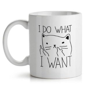 Caneca I Do What I Want