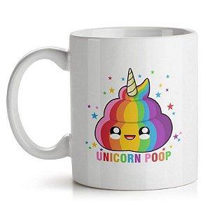 Caneca Unicorn Poop