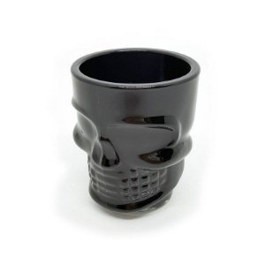 Copo Shot Caveira Skull Dose 50ml - black
