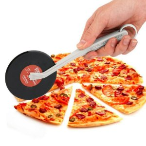 Cortador de Pizza Disco de Vinil - Vinyl Pizza Wheel