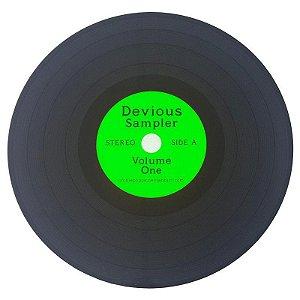 Jogo Americano Disco de Vinil Devious Sampler - verde