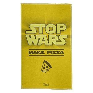 Pano Multiuso em Microfibra Stop Wars Make Pizza
