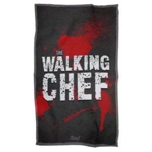 Pano Decorativo Multiuso The Walking Chef