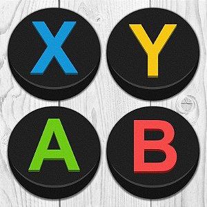 Porta Copos Gamer Botões ABYX