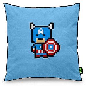 Almofada Capitão Pixel América