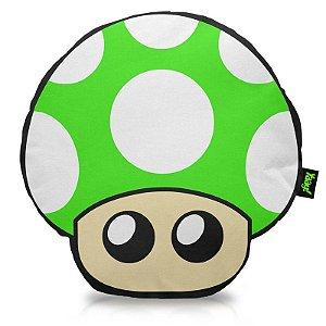 Almofada Cogumelo verde - 1 UP