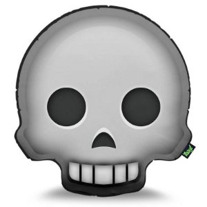 Almofada Emoticon - Emoji Caveira