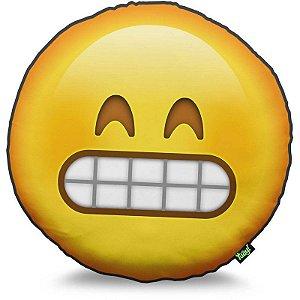 Almofada Emoticon - Emoji Super Feliz