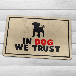 Capacho Eco Slim 3mm In Dog We Trust