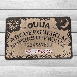 Capacho Eco Slim 3mm Tabuleiro Ouija - Vá embora