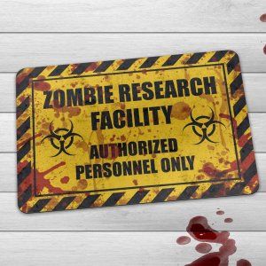 Capacho Eco Slim 3mm Zombie Research Facility - Blood