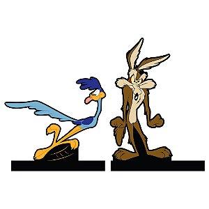 Aparador de Livros Looney Tunes Papa-Léguas