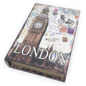 Caixa Livro Decorativa London Big Ben - 25 x 18 cm