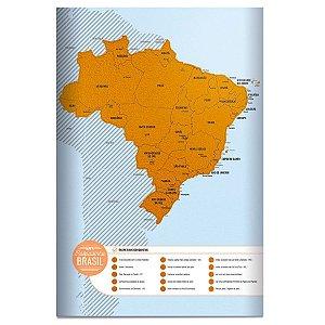Mapa do Brasil Raspadinha