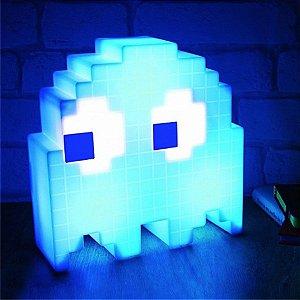 Luminária Fantasminha Ghost - azul