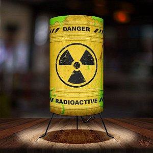 Luminária Yaay Barril Radioactive Radioativo