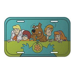 Placa de Metal Decorativa Scooby Doo