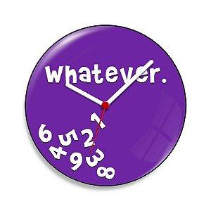 Relógio de Parede Whatever - 20 cm