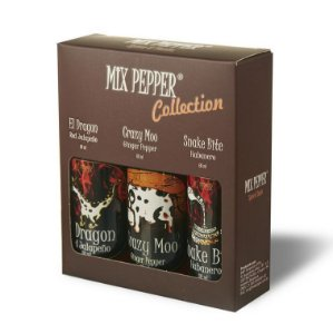 Kit Mix Pepper Collection com 3 molhos de pimenta 60ml