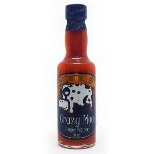 Molho de Pimenta Mix Pepper Crazy Moo Ginger Pepper