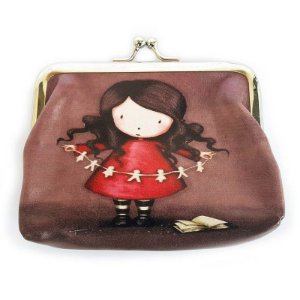 Porta Moedas Cute Girl - estampa sortida