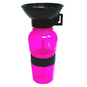 Bebedouro Portátil para Cães Acqua Dog - rosa