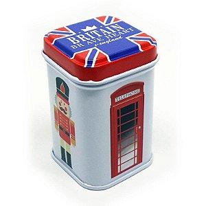 Latinha Reino Unido - Soldado e Cabine Telefônica