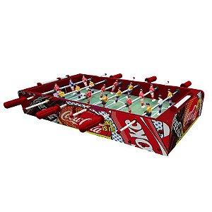 Mini mesa de Pebolim Coca-Cola Pop Up Coke