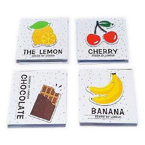 Bloco de Anotações - Tema Chocolate