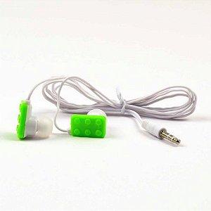 Fone de ouvido Brick - verde