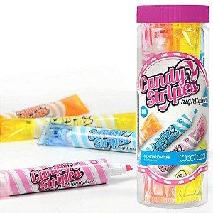Set de Canetas marca texto Candy Stripes - 4 cores