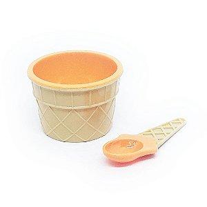 Tigela Sorvete - laranja