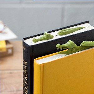 Marcador de Livro Crocodilo
