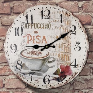 Relógio de Parede Cappuccino in Pisa