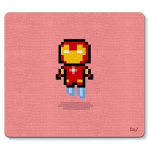 Mouse pad  Iron Pixel Man