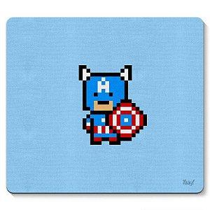 Mouse pad Capitão Pixel América