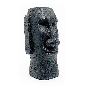 Cofre Estátua Moai - preto