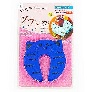 Protetor de Dedos Para Porta Gatinho - azul
