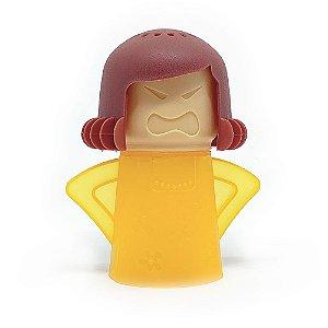 Limpador de Micro-Ondas Angry Mama - amarelo