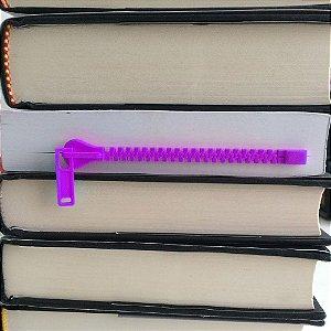 Marcador de página Zíper Zippermark - lilás