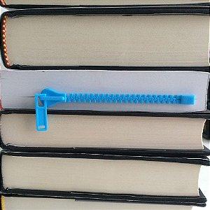 Marcador de página Zíper Zippermark - azul