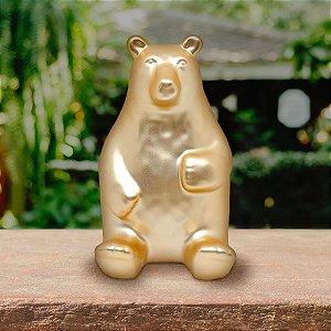Cofre Urso sentado