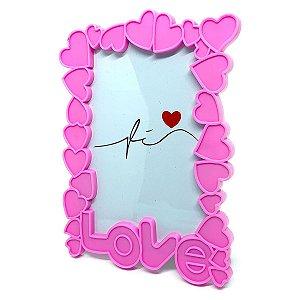 Porta Retrato Corações Love