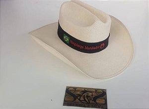 Chapéu Juta Aba Larga- Branco